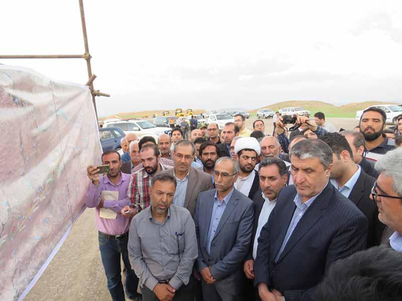 بازدید وزیر راه و شهرسازی از آزاد راه مراغه – هشترود