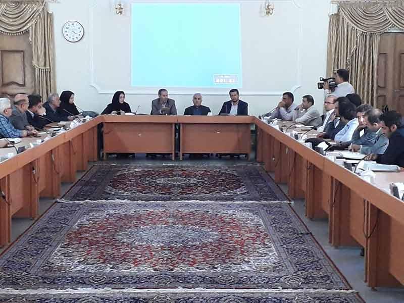 جلسه کارگروه اشتغال و مرکز حمایت از سرمایه گذاری و توسعه شهرستان مراغه