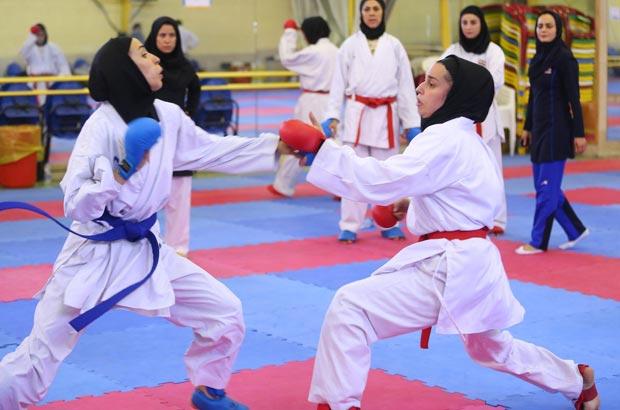 آغاز مسابقات کاراته بانوان کشورسبک شیدوکان درمراغه