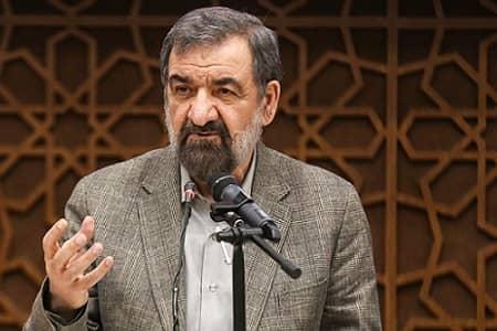 محسن رضایی از آتش سوزی در نطنز خبر داد