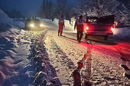 آخرین وضعیت امدادرسانی به در راه ماندگان و حادثه دیدگان برف و کولاک