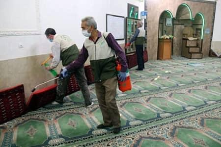 باز بودن مساجد در ماه مبارک رمضان، منوط به تصمیم ستاد ملی کرونا