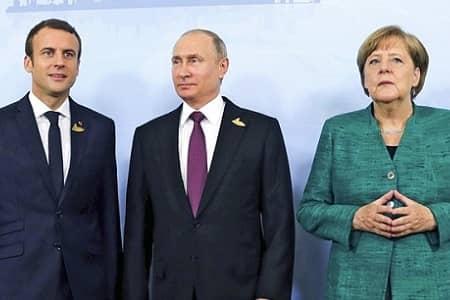 توافق سران فرانسه، آلمان و روسیه درباره ایران و برجام