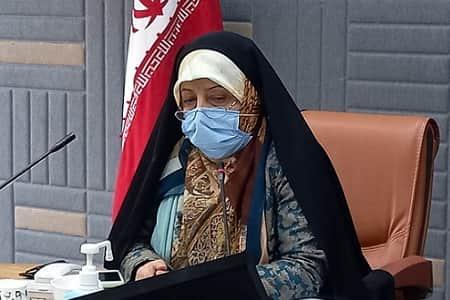 واکنش ابتکار به اعتراض یک زن به بی آبی خوزستان