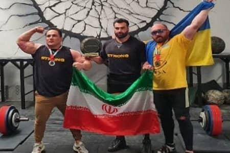 درخشش ورزشکار مراغه ای در مسابقات قویترین مردان امارات