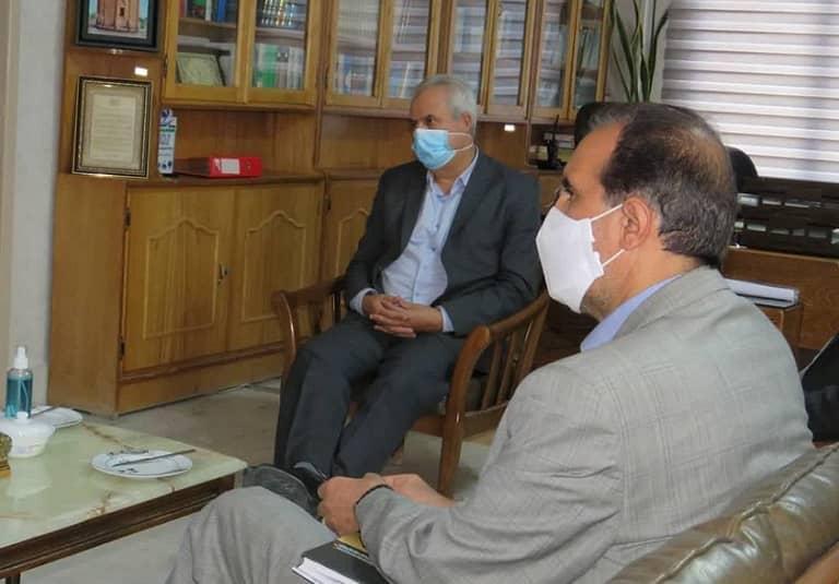 دیدار اعضای شورای اسلامی شهر مراغه به همراه سرپرست شهرداری با فرماندار مراغه